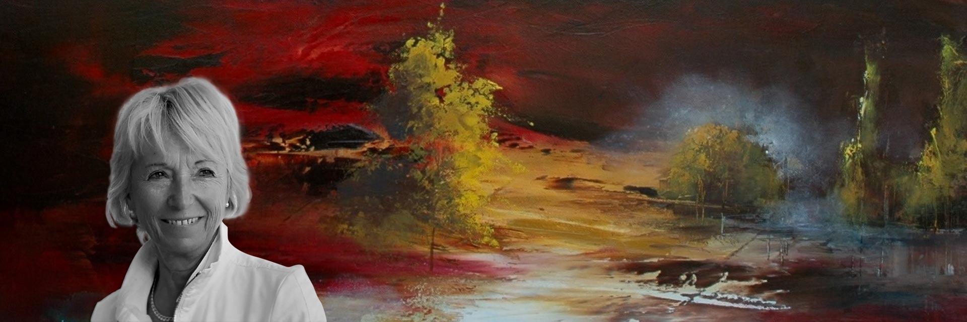 Rose Dalban artiste peintre